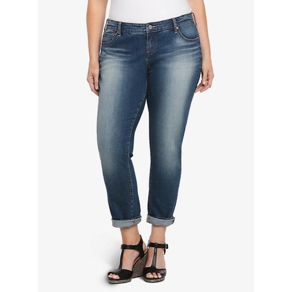 torrid Denim - Torrid Boyfriend Jeans Plus Size 18 Tall
